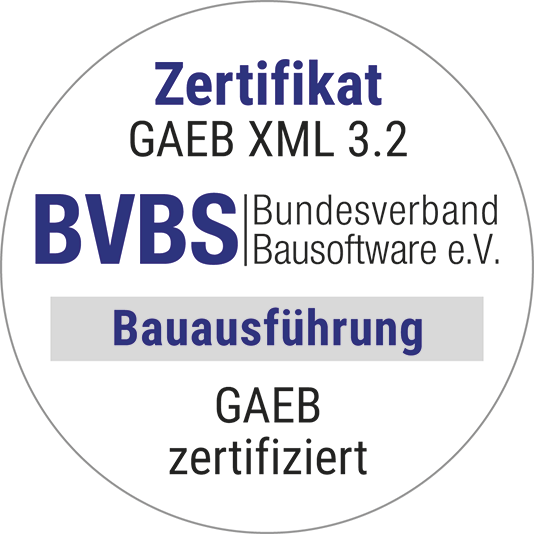 GAEB certification certificate