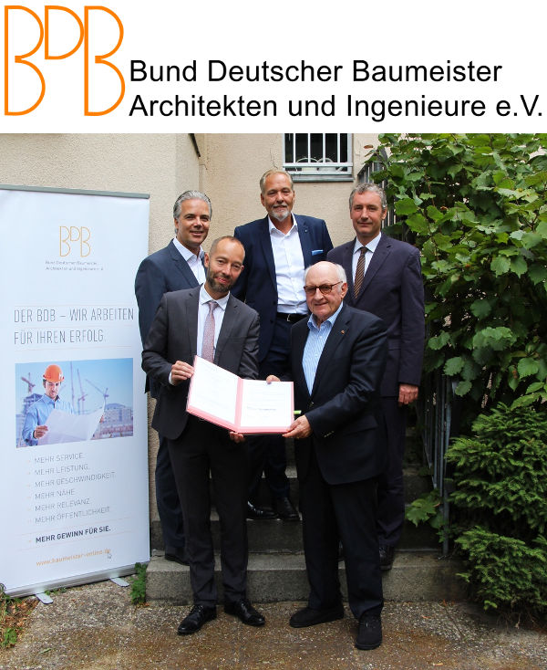 BDB - Bund Deutscher Baumeister Architekten und Ingenieure e.V.: Cooperation with NOVA AVA