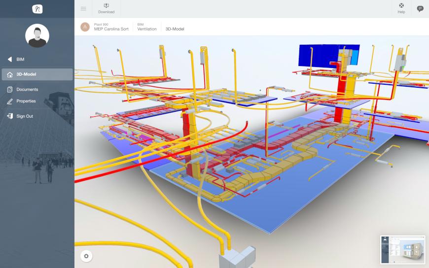 BIM Add-On  Building Information Model  3D model-based